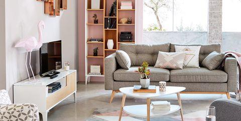 Te Contamos Como Decorar Un Salon En Tonos Soft A Precios Mini - Como-decorar-el-salon