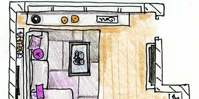 Line, Purple, Parallel, Rectangle, Illustration, Drawing, Artwork, Plan, Sketch,