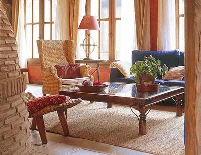 Interior design, Room, Table, Furniture, Interior design, Living room, Coffee table, Window treatment, Curtain, Flowerpot,