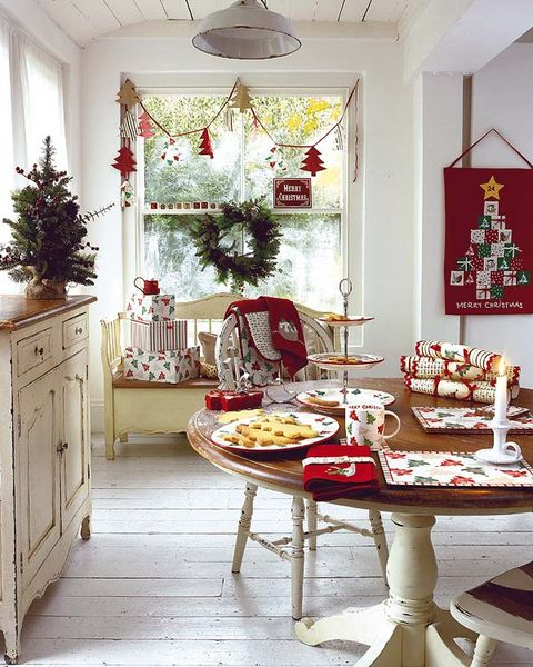 Como Decorar El Comedor En Navidad - Como-decorar-mi-casa-para-navidad