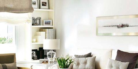 Room, Interior design, Floor, Living room, Wall, Home, Furniture, White, Flooring, Interior design,