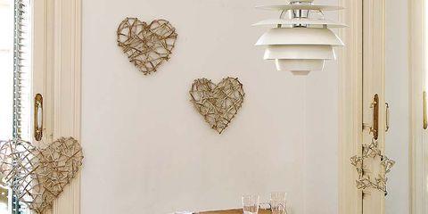 Table, Tablecloth, Furniture, Room, Interior design, Dishware, Light fixture, Serveware, Linens, Dining room,