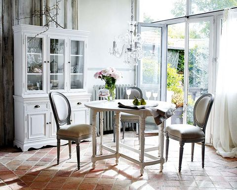 Furniture, Room, Table, Dining room, Interior design, Chair, Floor, Building, Home, Living room,