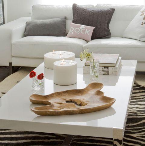 ideas para decorar las mesas de centro