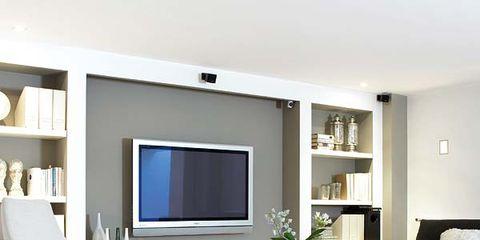 Room, Wood, Interior design, Floor, Wall, Furniture, Flooring, Living room, Display device, Bed,