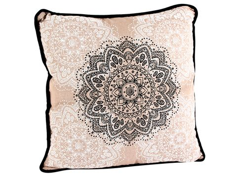 Textile, White, Cushion, Pattern, Home accessories, Throw pillow, Linens, Peach,