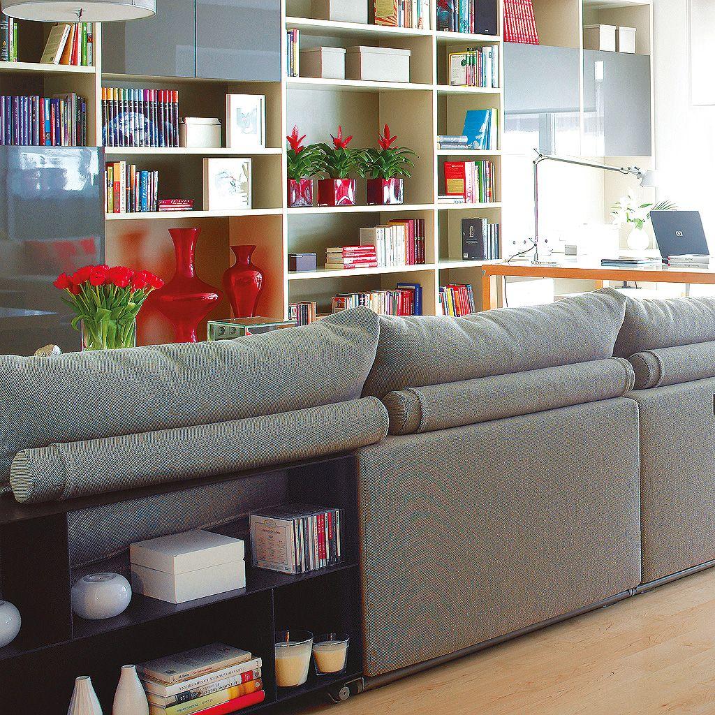 11 Ideas geniales para aprovechar la trasera del sofá