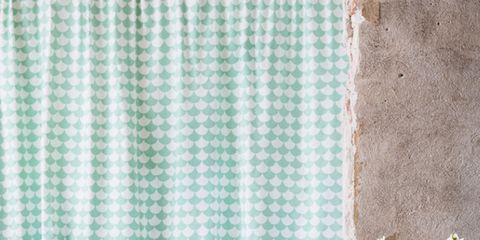 Room, Interior design, Textile, Teal, Turquoise, Flowerpot, Aqua, Home, Pattern, Living room,