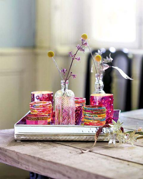 Flower, Purple, Cut flowers, Serveware, Lavender, Flower Arranging, Centrepiece, Magenta, Vase, Floristry,
