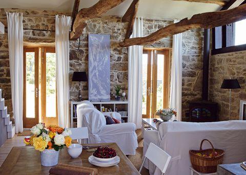 Ideas para decorar un salón comedor campestre