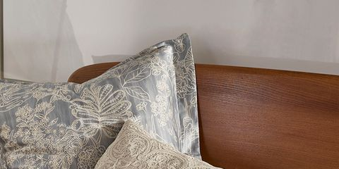 Textile, Cushion, Home accessories, Throw pillow, Pillow, Linens, Wood stain, Silver,