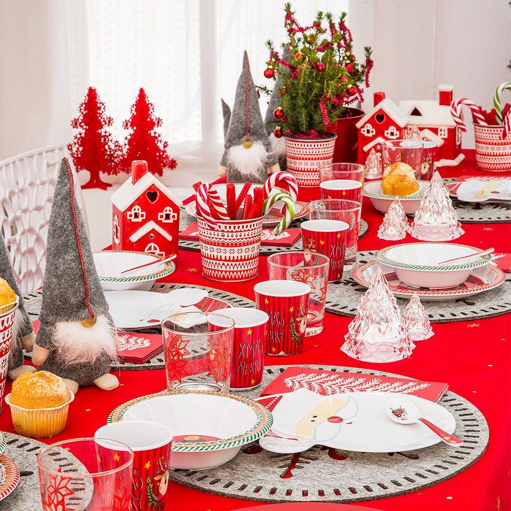 Una Mesa De Navidad Perfecta Para Ninos