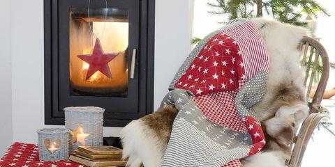 Interior design, Christmas, Home accessories, Basket, Costume accessory, Present, Picture frame, Picnic basket, Wicker, Storage basket,