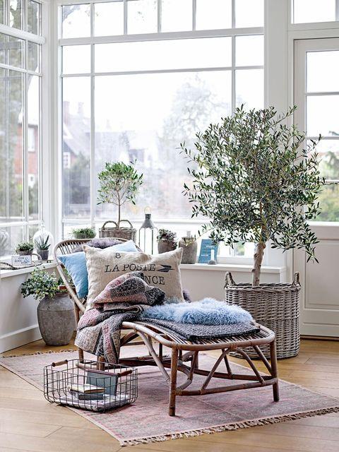 Interior design, Room, Flowerpot, Furniture, Floor, Interior design, Daylighting, Fixture, Home, Grey,