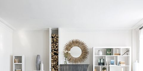 Room, Interior design, Wall, Living room, White, Furniture, Home, Couch, Floor, Ceiling,