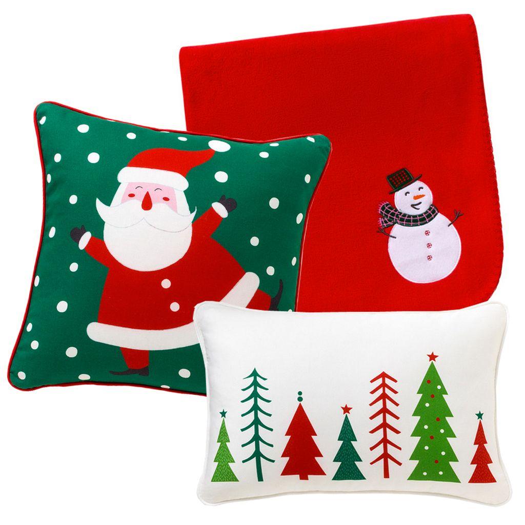 Cojines De Patchwork De Navidad.La Navidad Mas Calida Cojines Y Mantas