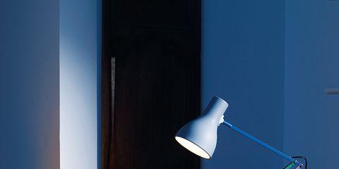 Room, Table, Interior design, Furniture, Lamp, Wall, Still life photography, Interior design, Orange, Home accessories,