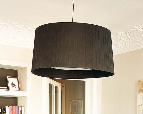 Lampshade, Wall, Interior design, Room, Lighting accessory, Ceiling, Interior design, Tints and shades, Light fixture, Lamp,