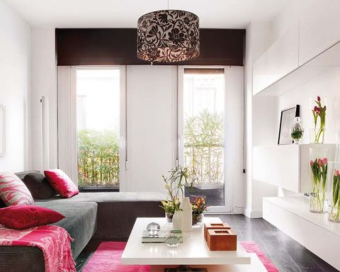 Room, Interior design, Wall, Table, Living room, Ceiling, Home, Interior design, Furniture, Floor,