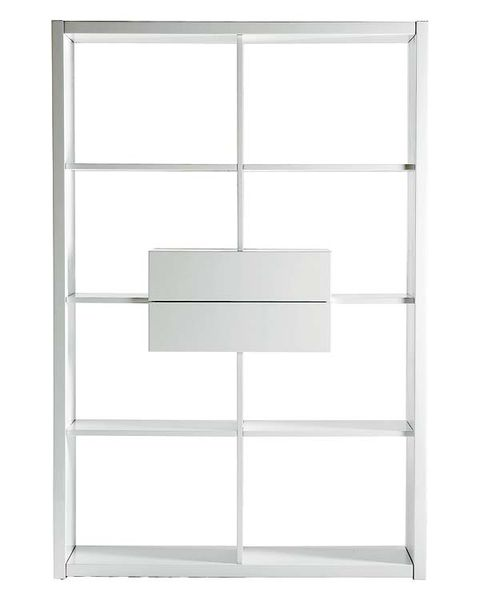 Glass, Line, Fixture, Transparent material, Parallel, Rectangle, Shelving, Silver, Square, Transparency,