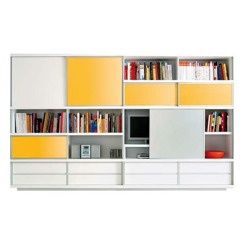 Shelf, Shelving, Publication, Wall, Furniture, Orange, Bookcase, Amber, Rectangle, Book,