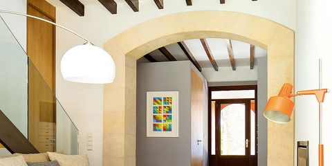 Lighting, Room, Interior design, Floor, Flooring, Ceiling, Furniture, Fixture, Interior design, Coffee table,