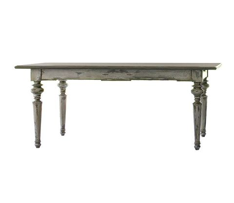 Table, Rectangle, Grey, Outdoor furniture, Desk, Sofa tables, Steel,