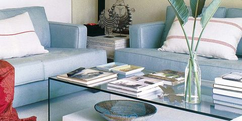 Blue, Room, Interior design, Living room, Floor, Furniture, Home, Teal, Turquoise, Interior design,