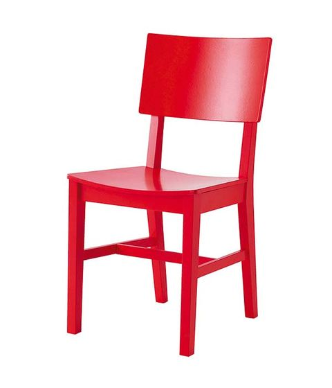Red, Line, Chair, Maroon, Parallel, Material property, Plastic,