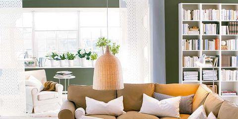 Interior design, Room, Furniture, Bookcase, Interior design, Home, Living room, Shelving, Couch, Shelf,