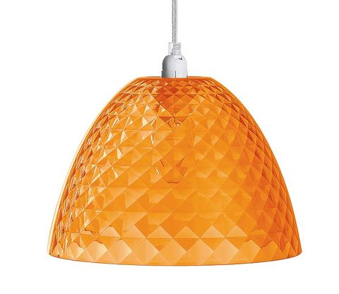 Orange, Light fixture, Lampshade, Line, Lighting accessory, Amber, Light, Ceiling fixture, Lamp, Home accessories,