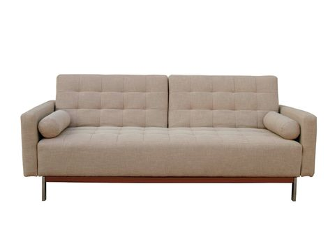 Wood, Brown, Furniture, Couch, White, Living room, Rectangle, Grey, studio couch, Tan,