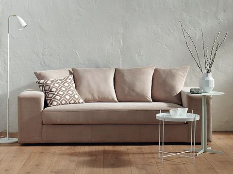 Room, Brown, Interior design, Floor, Wood, Wall, Flooring, Living room, White, Couch,