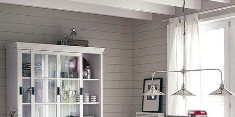 Floor, Wood, Room, Interior design, Flooring, Furniture, Table, Ceiling, Home, Fixture,