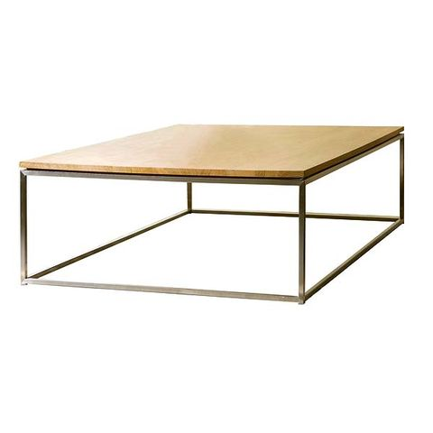Table, Line, Furniture, Rectangle, Coffee table, Tan, Beige, Composite material, End table, Wood stain,