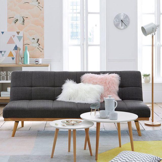 salón moderno estilo nórdico