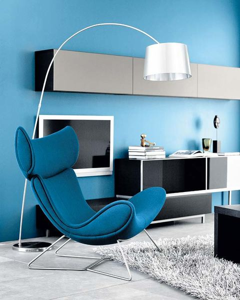 Blue, Product, Room, Interior design, Wall, Floor, Turquoise, Teal, Chair, Aqua,