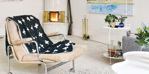 Room, Interior design, Wall, Floor, Furniture, Interior design, Home, Paint, Design, Light fixture,