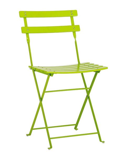 Green, Product, Yellow, Line, Parallel, Folding chair,