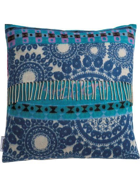 Blue, Green, Pattern, Textile, Teal, Aqua, Turquoise, Linens, Cushion, Azure,