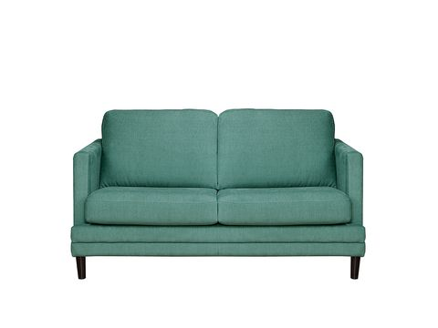 Couch, Furniture, Style, Turquoise, Teal, Rectangle, Outdoor furniture, Living room, studio couch, Aqua,