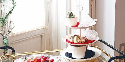 Serveware, Table, Dessert, Sweetness, Dishware, Barware, Fruit, Bar stool, Cuisine, Baked goods,