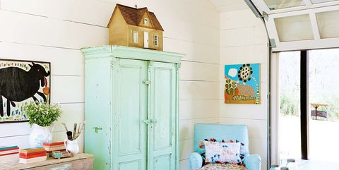 Blue, Room, Furniture, Green, Turquoise, Property, Interior design, House, Building, Yellow,