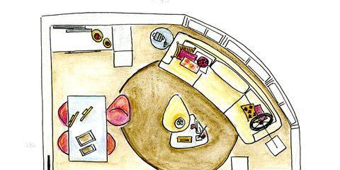Line, Illustration, Drawing, Graphics, Office equipment, Artwork, Sketch,