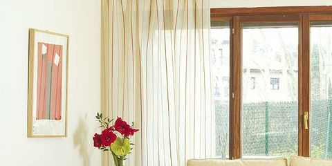Interior design, Room, Living room, Home, Furniture, Red, Floor, Flooring, Couch, Interior design,