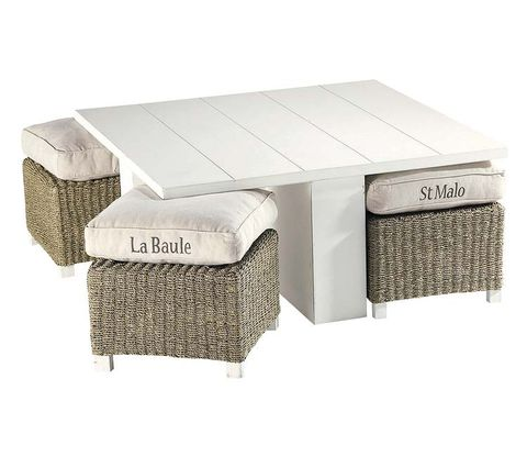 Rectangle, Grey, Beige, Wicker, Silver, Home accessories, Outdoor furniture,