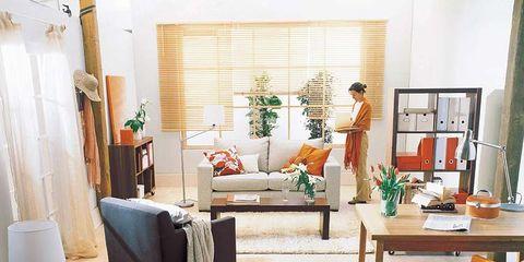 Room, Interior design, Wood, Floor, Flooring, Furniture, Living room, Interior design, Wall, Home,