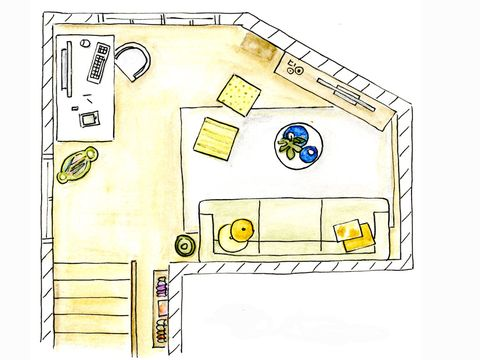 Yellow, White, Line, Plan, Parallel, Rectangle, Diagram, Illustration, Drawing, Schematic,