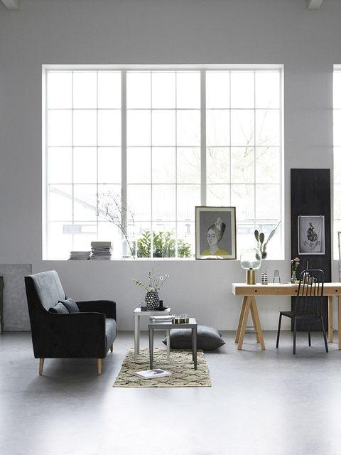 Room, Floor, Interior design, Furniture, Table, Flooring, Wall, Couch, Interior design, Living room,