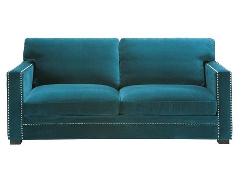 Blue, Green, Couch, Furniture, Turquoise, Teal, Rectangle, Aqua, Azure, Black,